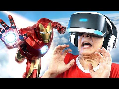 СИМУЛЯТОР ЖЕЛЕЗНОГО ЧЕЛОВЕКА в PlayStation VR!