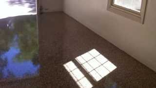 Epoxy Garage Concrete Floors Lake Ozark Stamped Acid Stained Coating Osage Beach Mo Painted Floor