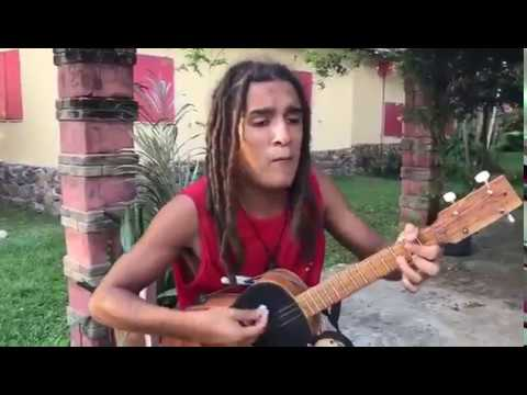 Reggae One Man Band sings Bob Marley's hits