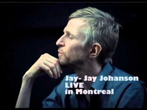 Jay-Jay Johanson live in Montreal