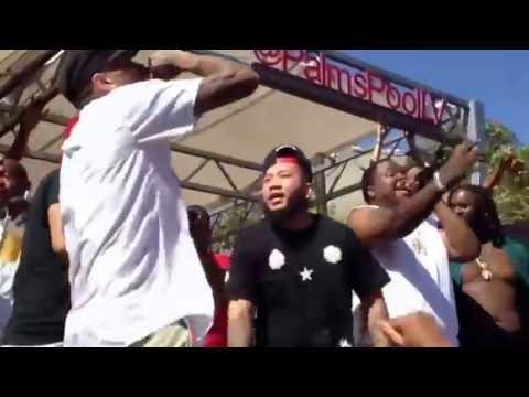 Chris Brown  Sean Kingston - Beat it Live