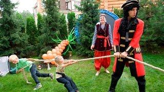 Аниматоры пираты на детском празднике в Москве(, 2017-01-23T12:15:38.000Z)