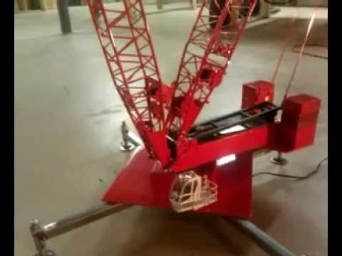 CRANE ACCIDENT ,, Rig tips over with 135- ton load while testing @ 250 Ft- Radius