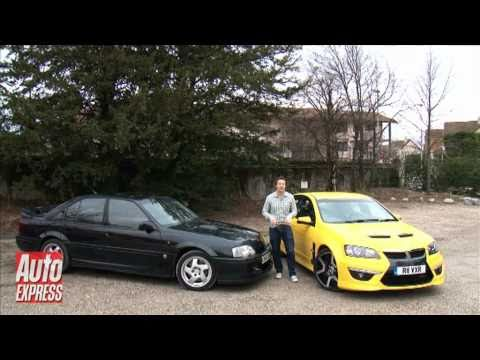 vauxhall vxr8 vs lotus carlton auto express youtube. Black Bedroom Furniture Sets. Home Design Ideas