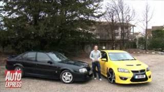 Vauxhall VXR8 vs Lotus Carlton - Auto Express