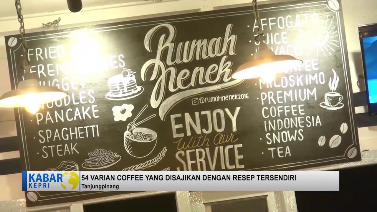 KABAR KEPRI Cafe Rumah Nenek