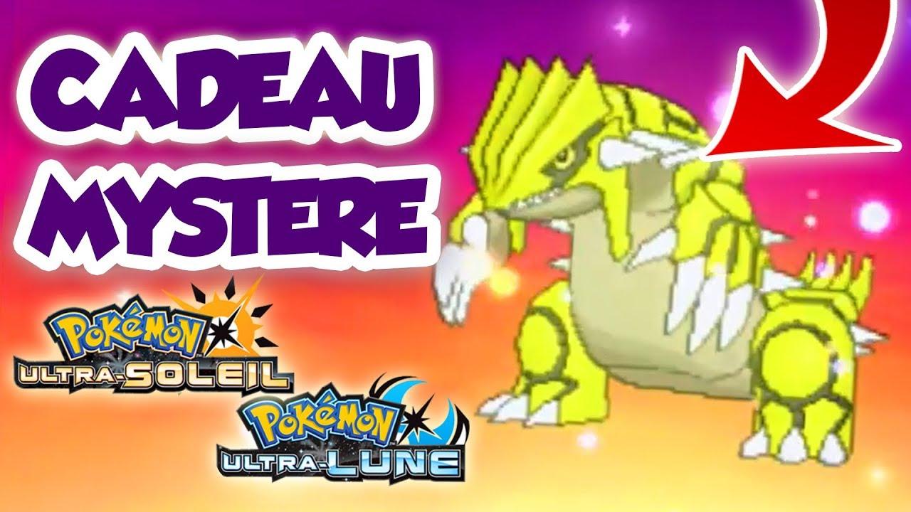 Recevoir Groudon Shiny Par Cadeau Mystere Dans Pokemon Ultra Soleil Et Ultra Lune