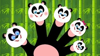 Pandas Finger Family | Nursery Rhymes For Children And Kids Song For Babies | Kids Tv Rhymes