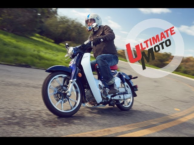 2019 Honda Super Cub C125 ABS First Ride Review | Ultimate Motorcycling