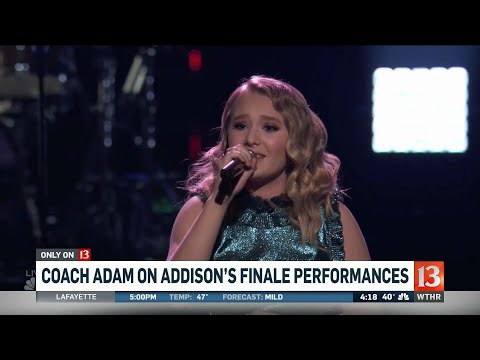 Addison Agen gets emotional on 'The Voice'