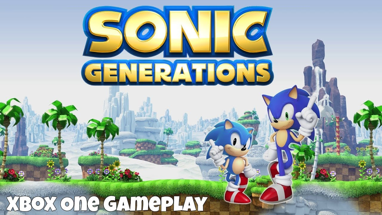 Sonic Generations Xbox One Gameplay 1080p 60fps Youtube