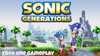 Sonic Generations - Xbox One Gameplay (1080p/60FPS)