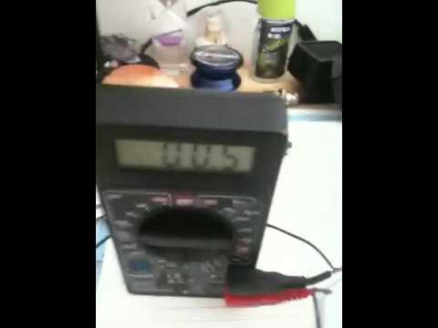 Homemade crystal radio(hungary)