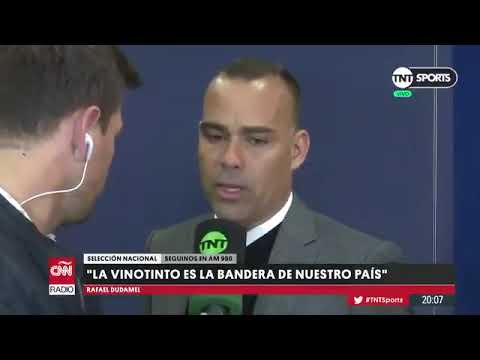 Rafael Dudamel pone su cargo a disposicion despues de visita de embajador de Guaido