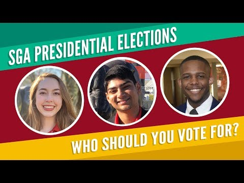 Everything you need to know before voting in the 2019 SGA Election!
