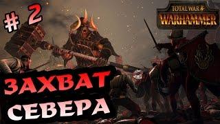 Total War Warhammer. Хаос 2. Захват севера