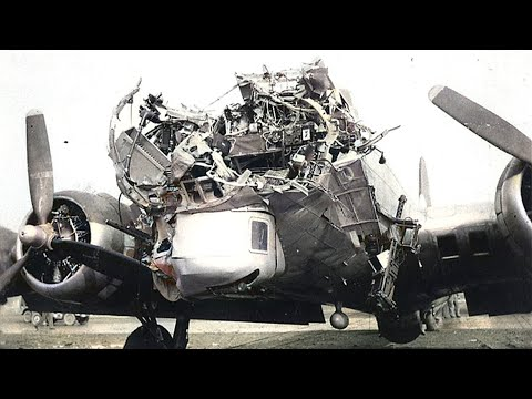The crewless B-17 Ghost fortress that landed itself  