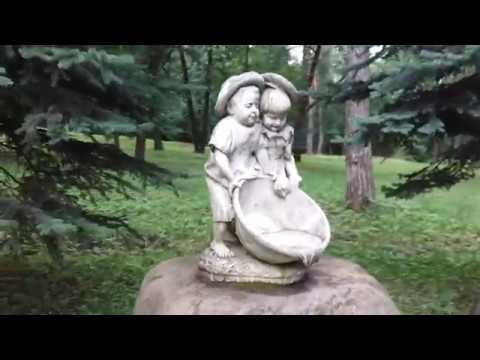 Интересные объекты на территории пансионата Заря имени Хруничева Ступинского района. Часть II.
