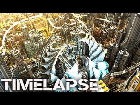 Minecraft Timelapse | Complexcity - The Ultimate Futuristic City