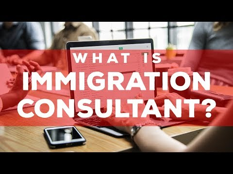 What is Immigration Consultant?