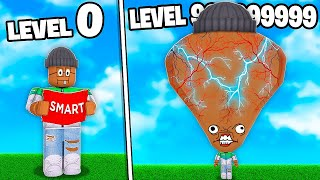 I GOT A 999,999,999 MAX LEVEL ROBLOX BRAIN