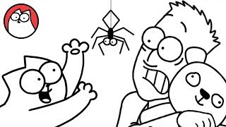 Spider Cat  Simon's Cat (Halloween Special) | COLLECTION