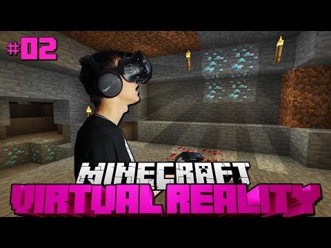 ECHTER DIAMANDIONÄR?! - Minecraft Virtual Reality #02 [Deutsch/HD]
