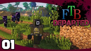 FTB Departed - Ep. 1: Hardcore! This Should Be Easy... | FTB Departed Modpack Let's Play
