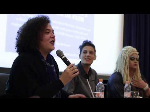 Magô falando sobre Identidades Trans 24