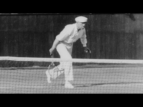 Tennis World Championships Open at Wimbledon (1921) | BFI National Archive