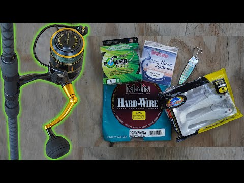 My Jetty Fishing Setup For Catching BIG Fish | How To Fishing Knots And Update
