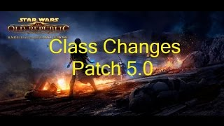 SWTOR: Class Changes Coming With Patch 5.0