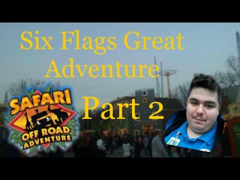 Six Flags Great Adventure Safari Off Road Adventure Tour Guide Frank 2nd half Part 2