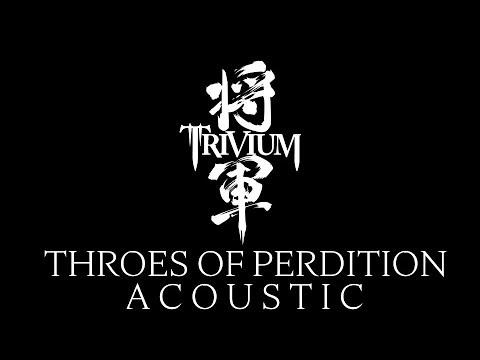 Matt Heafy (Trivium) - Throes Of Perdition I Acoustic Cover