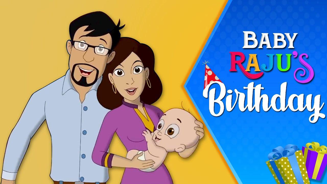 Download Mighty Raju - Baby Raju's Birthday | Janmadin Special Video | #HBDMightyRaju