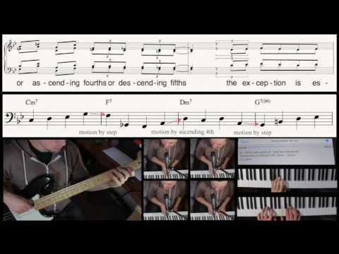 How To Walk A Jazz Bass Line (in under 60 seconds)