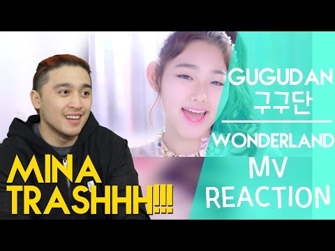 구구단 (gugudan) - Wonderland MV REACTION