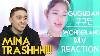구구단 (gugudan) - Wonderland MV REACTION