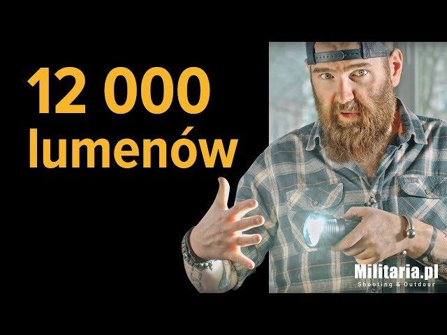 12 000 lumenów - latarka Olight X7R Marauder XHP70