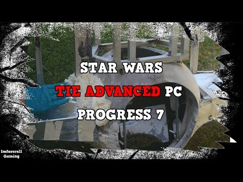 Star Wars TIE Fighter Advanced Watercooled PC Build Progress 7 - PC MOD BUILT INTO A TIE FIGHTER