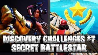 SECRET BATTLESTAR! Week 7 Discovery Challenges (Fortnite Season 8)