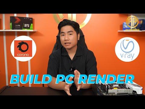 Build PC Render 3D, Render Video, Render Farm Thì Cần Quan Tâm Tới Các Yếu Tố Gì !!! #PCDH11