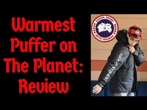Warmest Puffer On The Planet--Canada Goose Skreslet Parka
