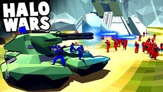 Amazing HALO TANKS, Weapons and Maps! HALO WARS! (Ravenfield Best Mods)
