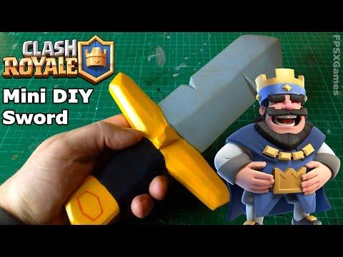 Mini DIY Clash Royale Sword