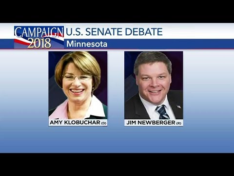 Minnesota Senate Debate Amy Klobuchar vs Jim Newberger Oct 21, 2018
