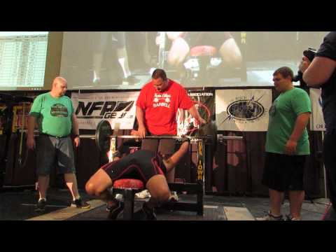 Chao Huerta 1 bench 320 lbs UPA Battle on the Mississippi 2014