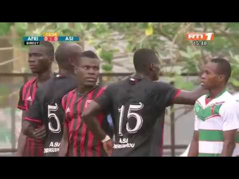 Match Africa Sports d'Abidjan vs ASI d'Abengourou 2-0 Cote d`Ivoire Ligue 1 28 octobre 2017
