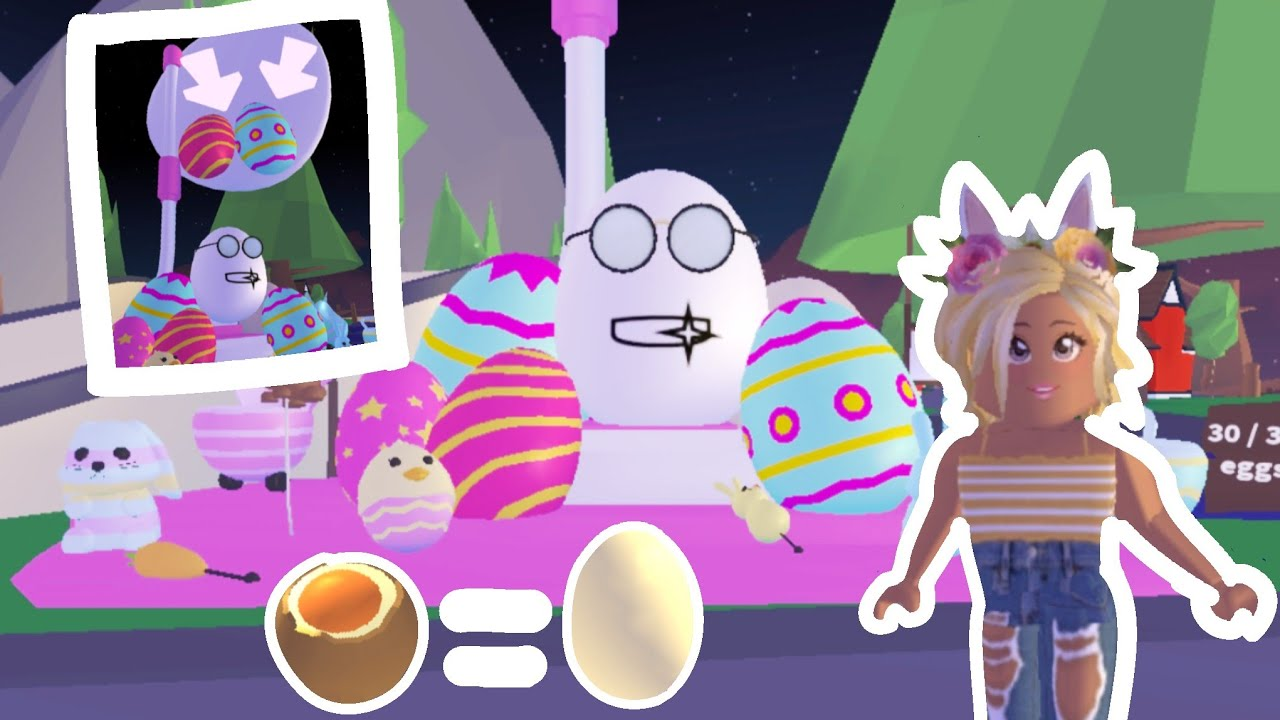 Finding All 30 Easter Eggs In Roblox Adopt Me How To Get All 30 Eggs In Adopt Me Egg Hunt 2019 Misterious New Egg Youtube