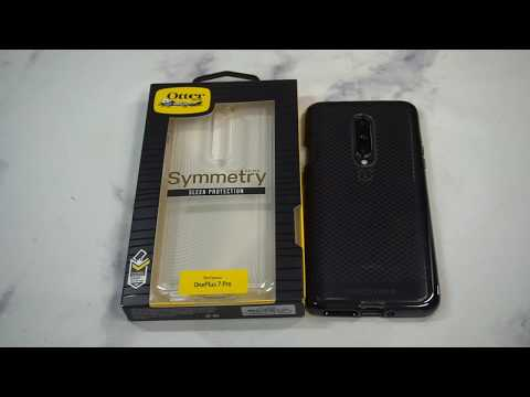 Otterbox Symmetry Series Clear Case for OnePlus 7 Pro Unboxing and Review